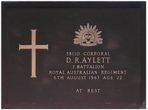 aylett plaque