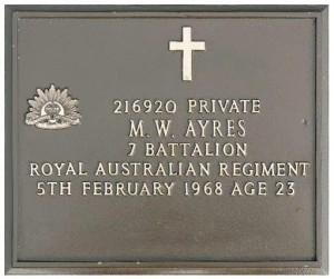 ayres plaque