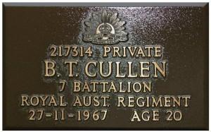 cullen plaque
