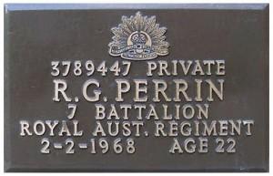 perrin plaque