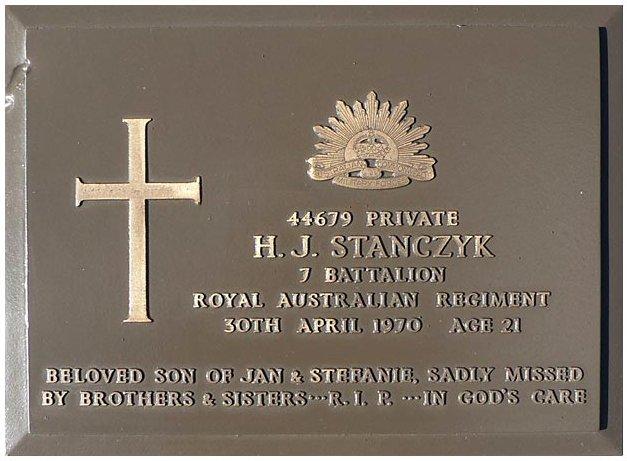stanczyk plaque